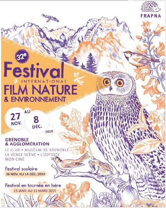 Festival International Film Nature et Environnement 27/11 au 8/12/18