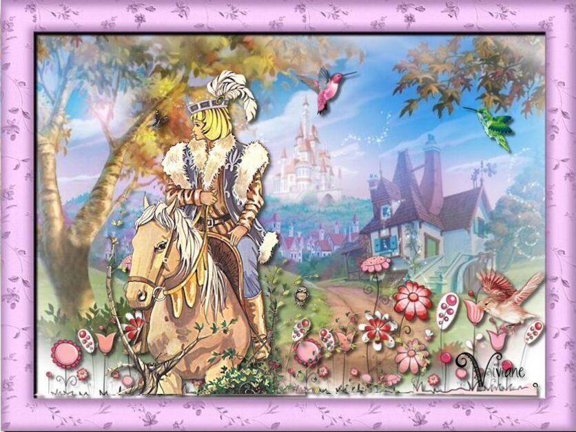 La petite bergère et le prince charmant