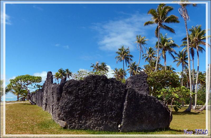Vues panoramiques sur le Marae Anini - Baie d'Avea - Huahine - Polynésie française