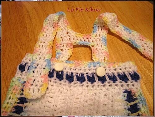 pantalon bébé crochet