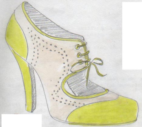 heels, talons, derbies