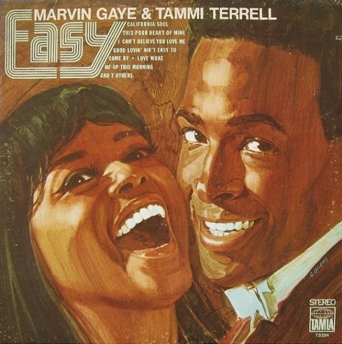 "Marvin Gaye & Tammi Terrell : Album "" Easy "" Tamla Records TS 294 [ US ]"