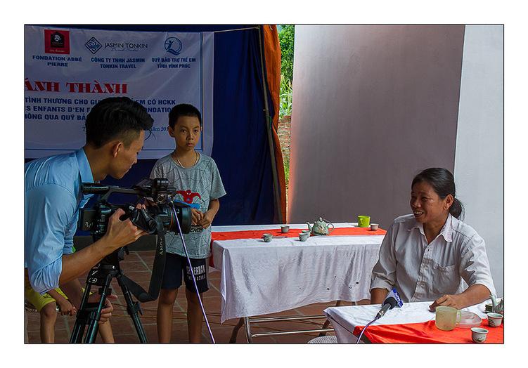 Des maisons pour deux familles de Vinh Phuc