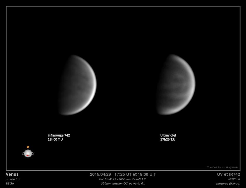 Venus le 29 avril