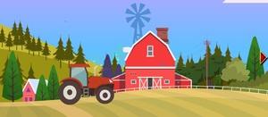 Jouer à Escape from village tractor
