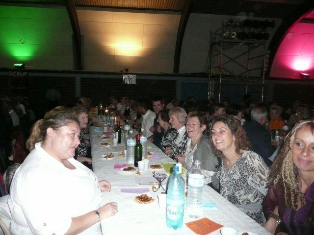 Samedi 25 octobre 2008,repas et soirée dansante à Montville