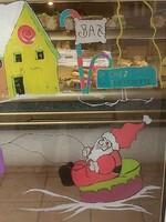 ma vitrine a la boulangerie de villevocance