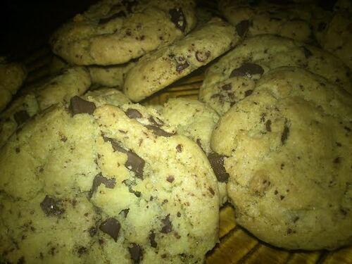 Cookies au chocolat {Vegan}