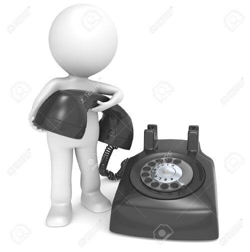 Personne au téléphone