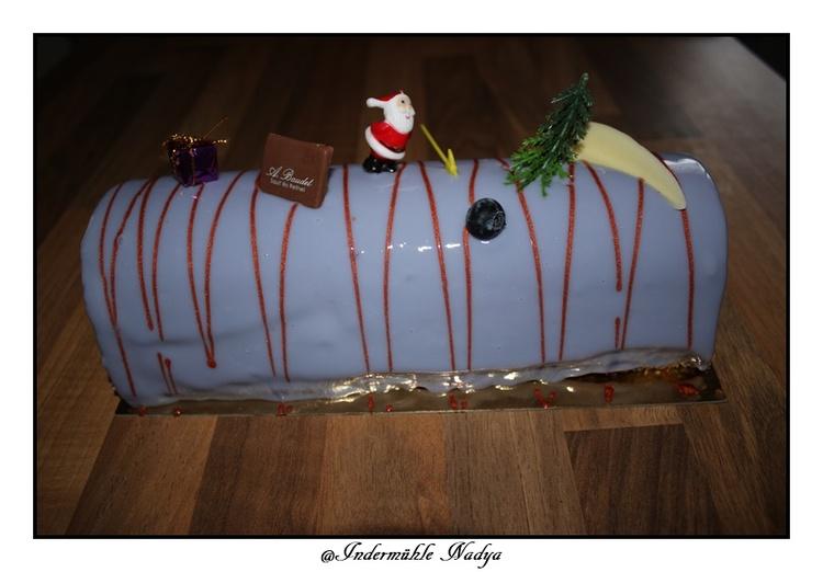Büche de Noël de notre boulangerie