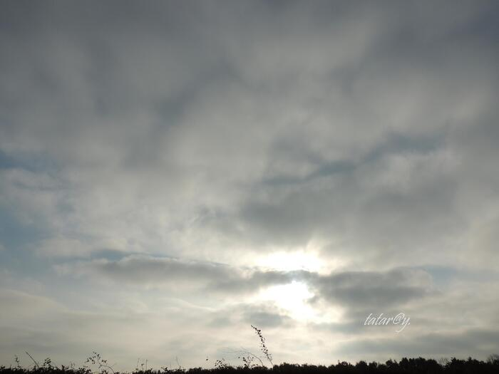 Mon ciel ... ce dimanche.