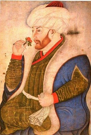 Le sultan Mehmet II