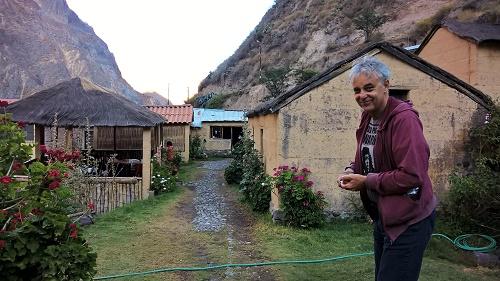 Ronaldo au village de san juan de chuccho