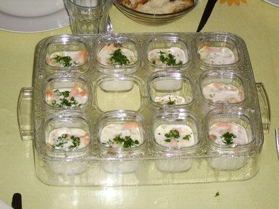 Blog de charlottopoire : Mes petites créas, Oeufs cocottes au saumon