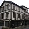 Architecture à pans de bosi à Louviers