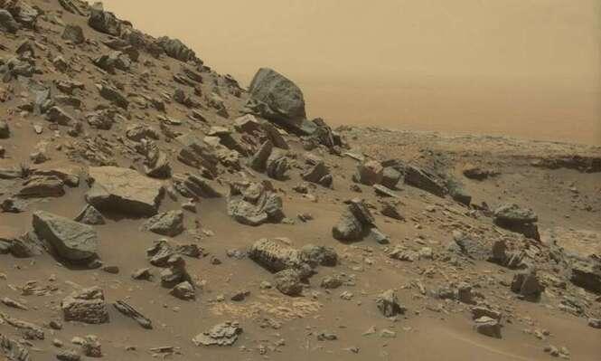 Mars... De nouvelles photos révèlent un monde