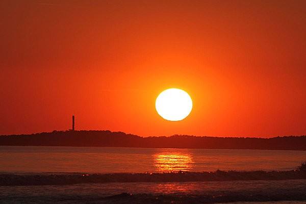 coucher de soleil sur Bonne Anse depuis la Grande Côte6