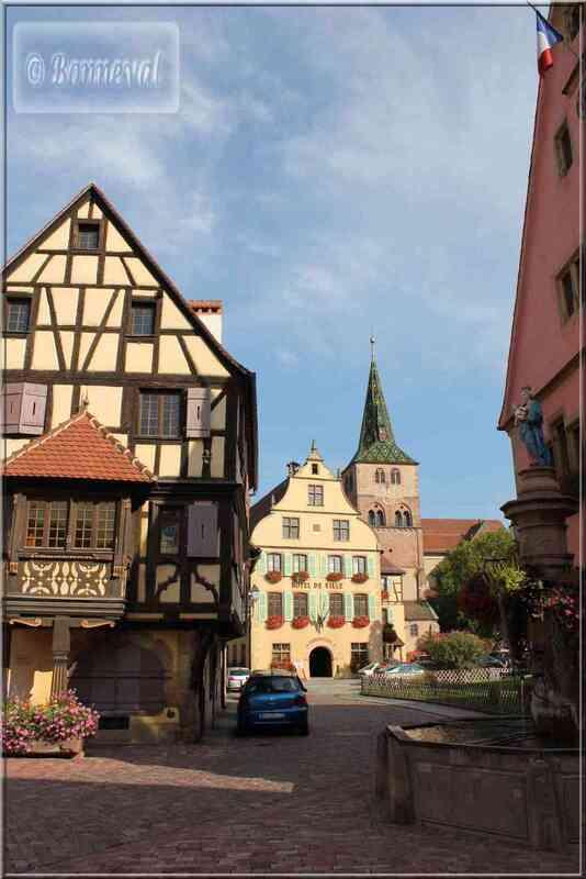 Alsace Route des Vins Turckheim maison Schiehle