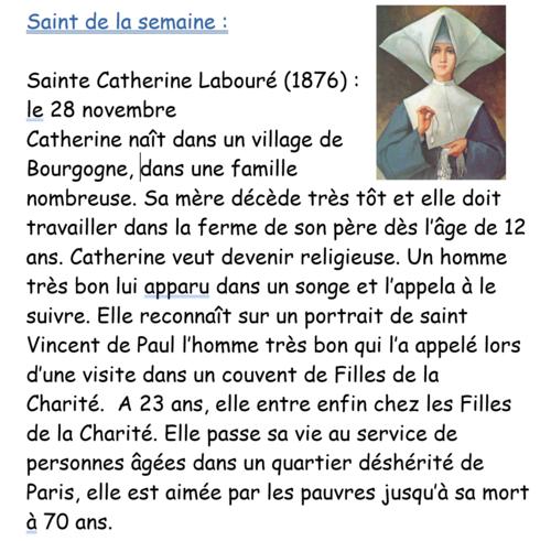 Ste Catherine Labouré