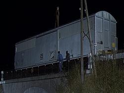 """Le rail dans le film """"Le cerveau""""!"""