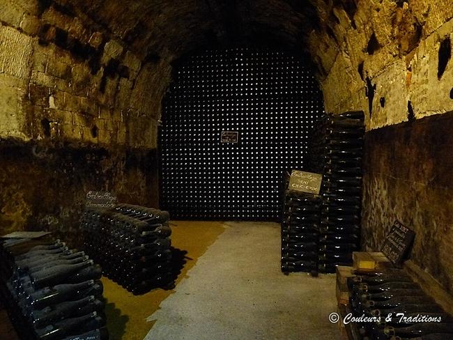 Voyage dans les caves Champenoises