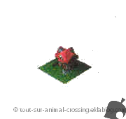 modèle 2 étages - animal crossing DS