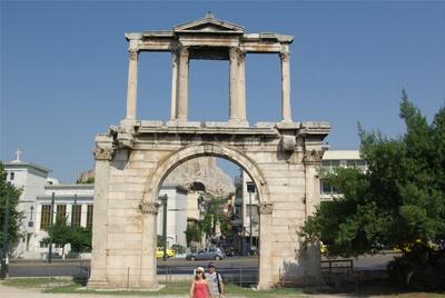La porte d'Hadrian