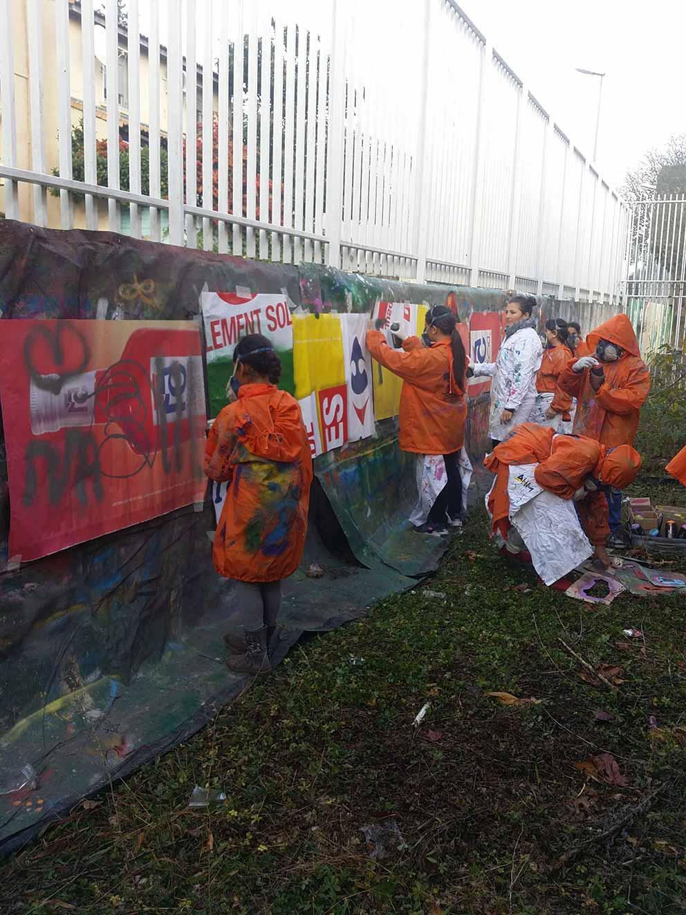 Stage Graff Dessin Bombe De Peinture Et Fresque Pour La Journee