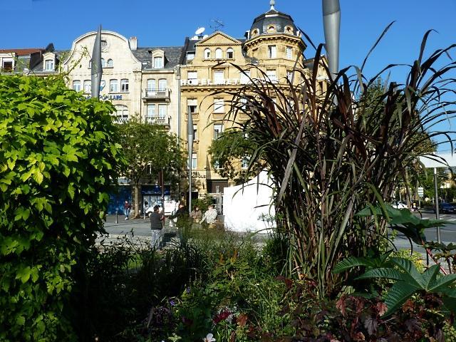 Jardin éphémère Metz gare 2011 12 Marc de Metz