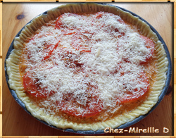Tarte Rouge Tomate au Thon