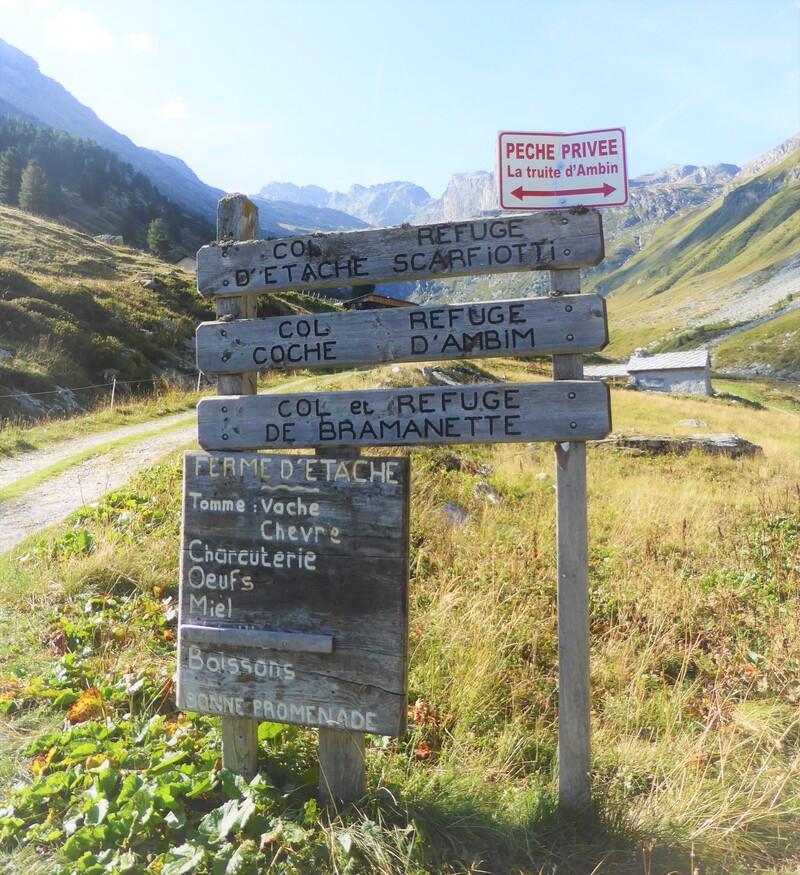En Haute-Maurienne N° 4 : Le vallon d'Etache, suite : belle rencontre !!