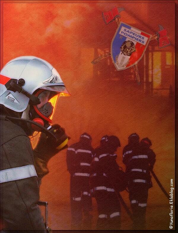 Papier Lettre Pompiers