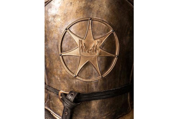 Symbole de la Foi sur les gardes royaux