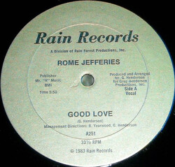 Rome Jefferies - Good Love