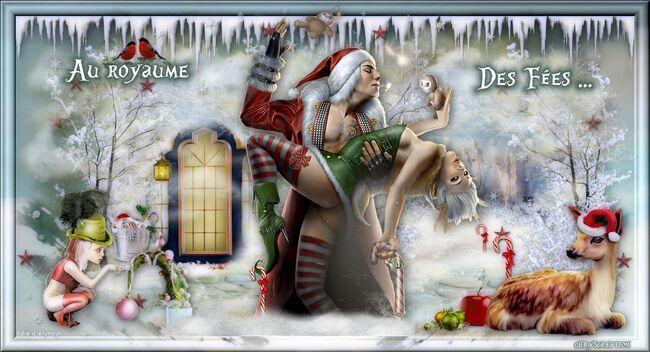 Bannière Le noël des elfes sexy