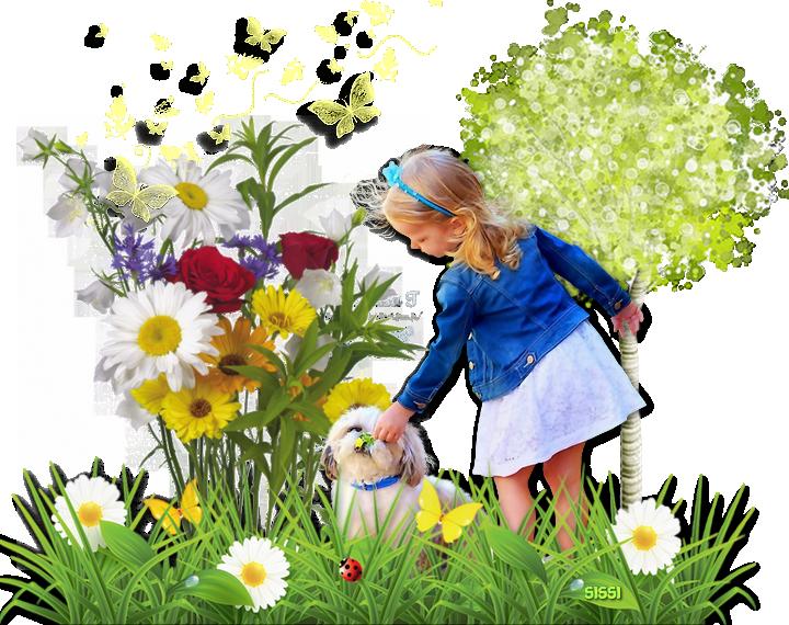 *Bouquet Printanier * de Marieclo *