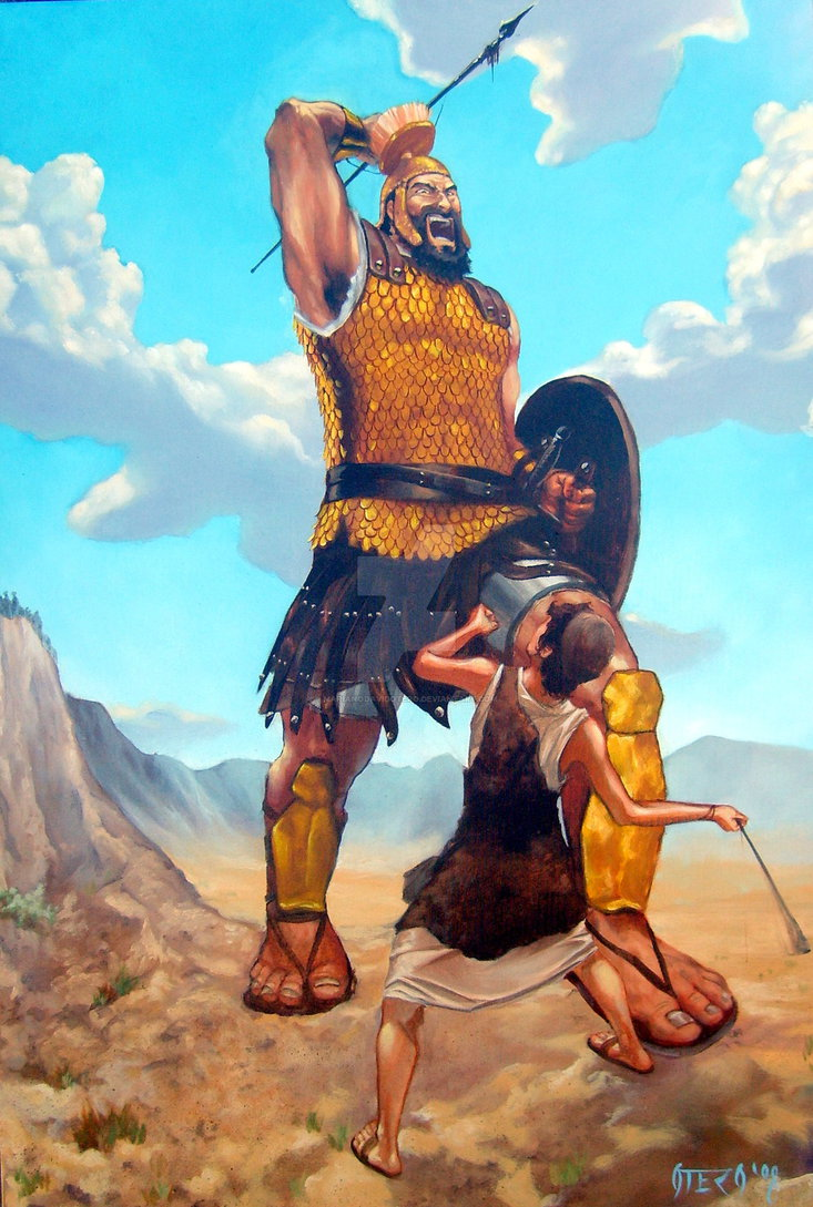 David Vs. Goliath by MarianoDavidOtero