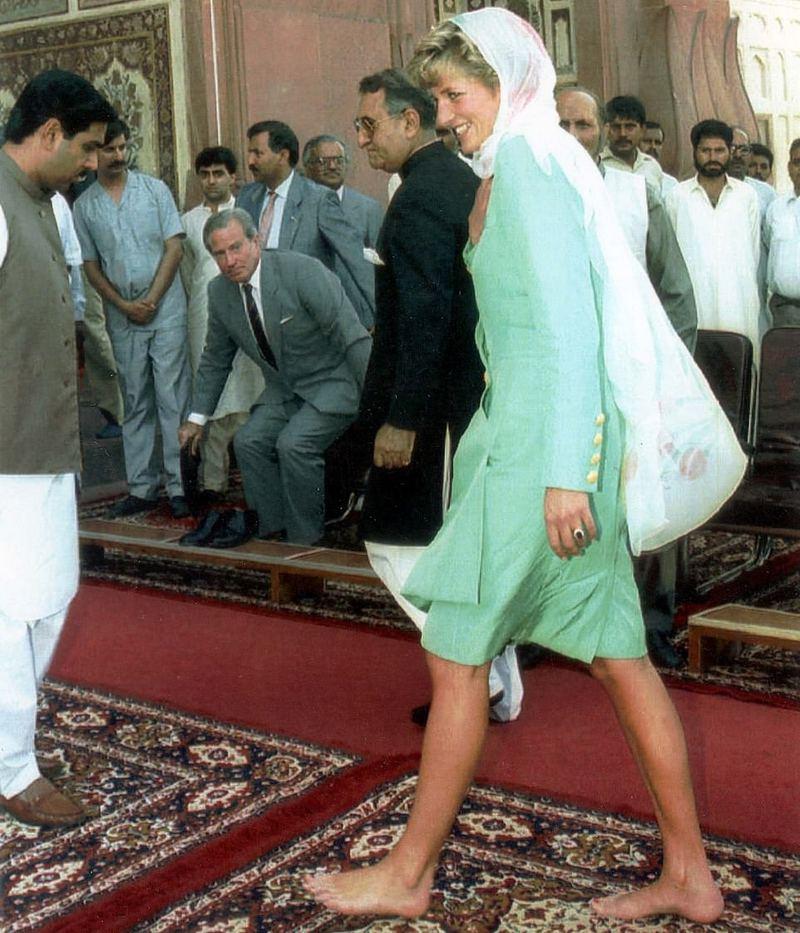 Diana au Pakistan