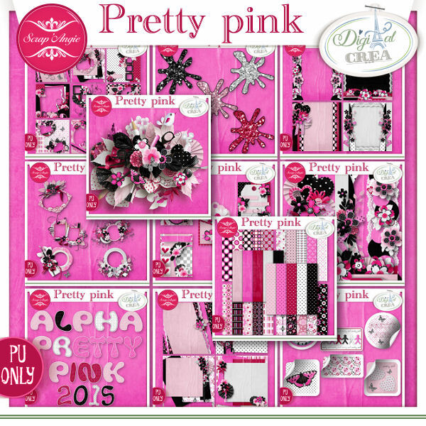 Pretty pink bundle