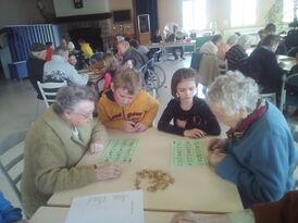 Loto à la maison de retraite