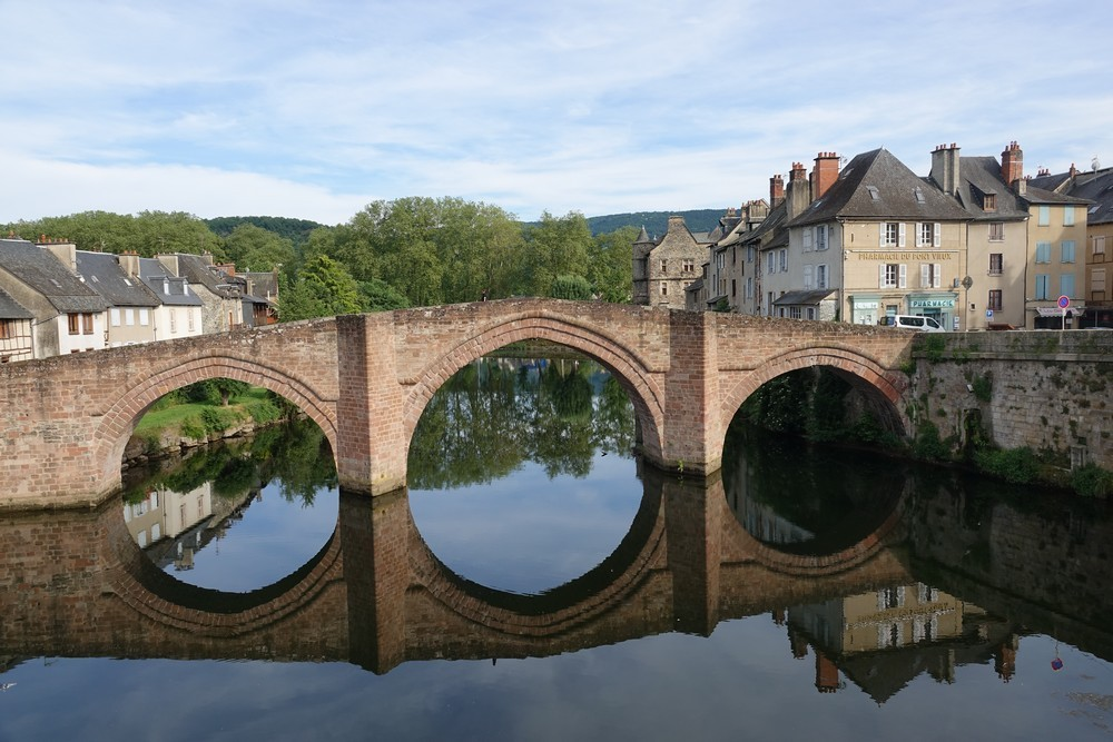Le Pont-Vieux à Espalion...