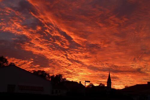 Coucher des soleil du 28 Novembre 2013.