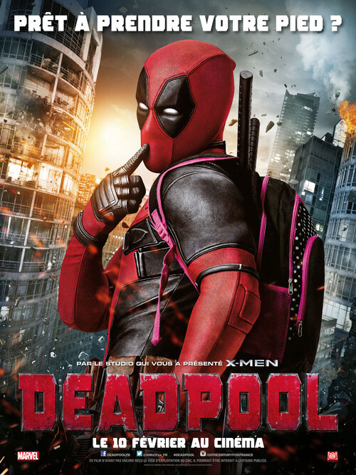 "Bonsoir a l'honneur : "" Deadpool """