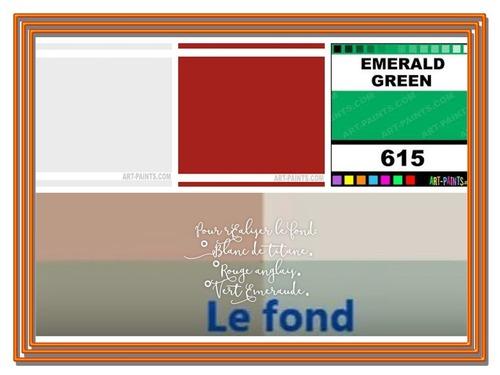 """Dessin et peinture - vidéo 3350 - Comment reproduire la palette de couleurs pour """"les iris"""" (1890) de Vincent Vangogh ? - huile ou acrylique."""