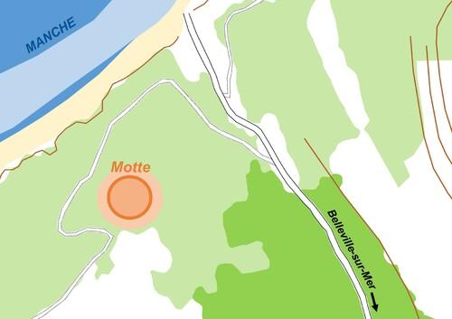 LES REMPARTS DE BELLEVILLE-SUR-MER (Seine-Maritime)