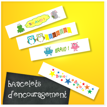 Bracelets d'encouragement