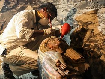 Encore une belle découverte en Egypte ...