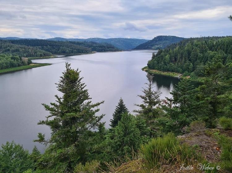 Le lac de Pierre-Percée en Meurthe et Moselle (54)