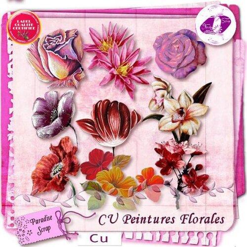 Peintures florales