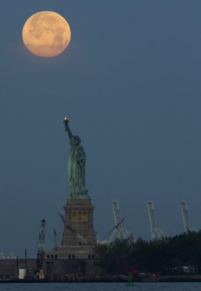 Ce 23 juin, la Lune a atteint son périgée (© REUTERS)